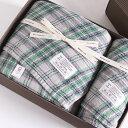 今治タオル コンテックス タータンチェック ギフトセット Imabari Towel Kontex Tartan Check GiftSet Size L1枚xSize M1枚ギフト包装無料 のし無料【今治タオル コンテックス ギフト】