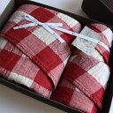 今治タオル コンテックス ヴィンテージチェック ギフトセットImabari Towel Kontex Vintage Check GiftSetバスタオル 1枚xフェイスタオル1枚xゲストタオル1枚目のし無料