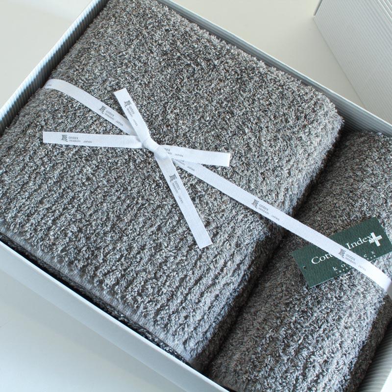 今治タオル コンテックス ヴィータ ギフトセットImabari Towel Kontex Vita GiftSetバスタオル1枚xフェイスタオル1枚ギフトラッピング無料 のし無料敬老の日 ギフト 敬老 祖父 祖母