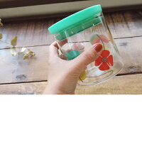 フラワーガラス収納ケース/26531