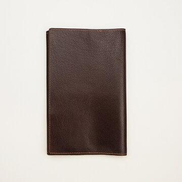 アシュフォード ディープ  ブックカバー新書  ブラウン 8085-022