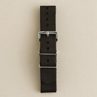 It is crew Watch strap watch strap (BLACK) J.CREW Jay