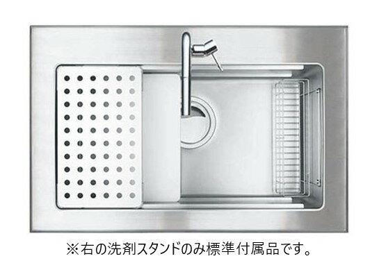 シゲル工業製 PSSA-JSN-K 3F FS(外寸 900×580)(オーバーシンク)(静音タイプ)【ステンレスシンク】