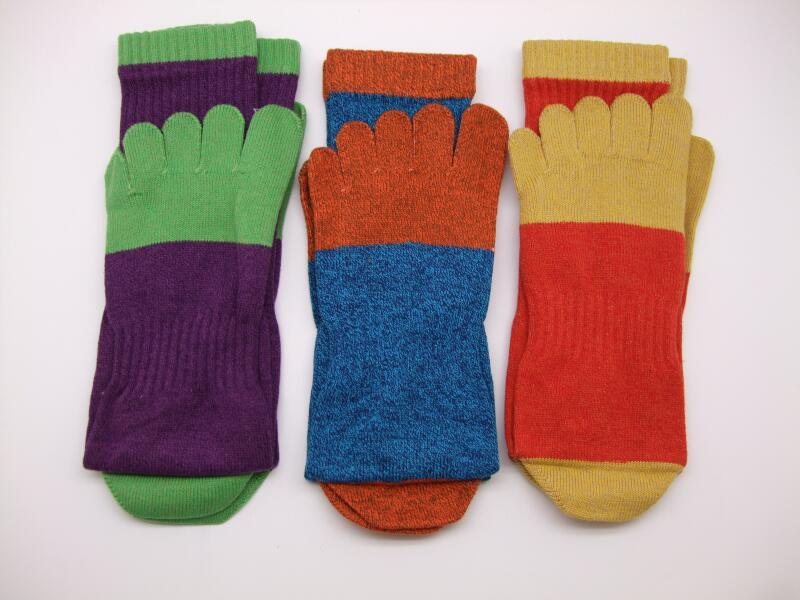 靴下 5本指靴下 3足組 働く靴下 のばのば