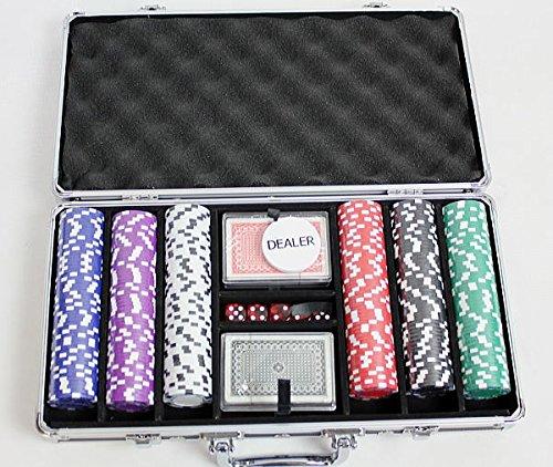 ポーカーチップ300カジノゲームアタッシュケース入チップ[PC-2246][PC-2840]ポーカーチップ【HLS_D...