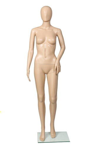 女性用マネキンG-3S肌色マネキンスキンカラーレディース等身大173cm全身マネキン[MK-3953]【HLS_DU...