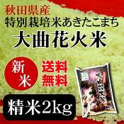 大曲花火米2kgお土産/ご贈答用/お中元/お歳暮/安心安全