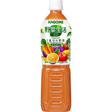 【生活雑貨】【カゴメ】野菜生活100 ペットボトル(720ml) 1食分の野菜 βカロチン やさい ジュース 健康 4901306043141【YH】