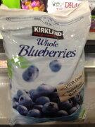 コストコ カークランド ブルーベリー Blueberries 096619722570