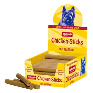 【PET】【送料無料】【アニモンダ】※ポイント5倍※ ドッグスナック チキンスティック【鳥肉】1ケース【50本入】JAN:4017721829021【THC】