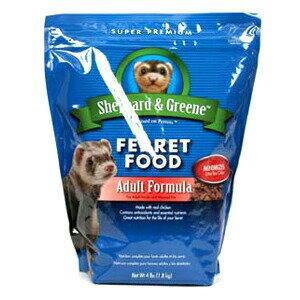 【PET】【シェパード&グリーン】フェレット フード アダルトフォーミュラ 1.8kg 【フェレット フード】JAN:0071859999678【NC】