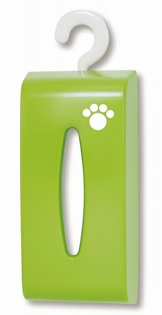 【PET】【L】 ペットティッシュボックス 【緑】