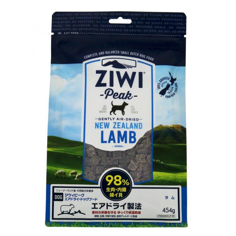 【PET】ZIWI ジウィ エアドライ・ドッグフード ラム 1kg ドッグフード ジウィピーク 9421016590599 【W】