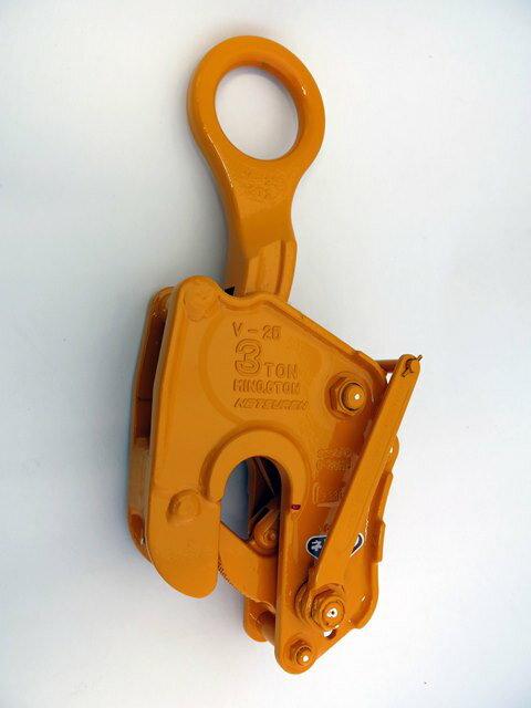 ネツレン  竪吊クランプ 1ton V-25(L型) [A020124]:DAISHIN工具箱