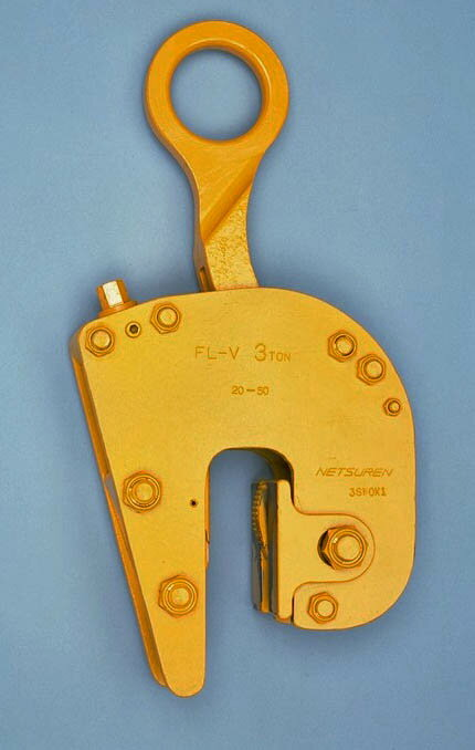 ネツレン  無傷竪吊クランプ 5ton FL-V型 [A020124]:DAISHIN工具箱