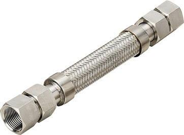 南国フレキ工業  NFK  メタルタッチ メスxメス型フレキ 継手SUS304 50Ax300L NK203FF50-400 [A150504]:DAISHIN工具箱