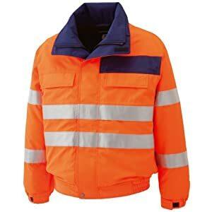 ミドリ安全  高視認性 防水帯電防止防寒ブルゾン オレンジ 4L SE1135-UE-4L [A061802]:DAISHIN工具箱