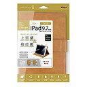 ナカバヤシ iPad9.7(2018)PUレザージャケット/キャメル TBC-IPS1808CA [F040309]