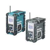 マキタ 充電式ラジオ MR108B (黒)Bluetooth対応(バッテリ・充電器別売)