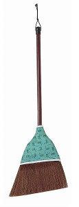 フローリング・畳にもソフトな掃き心地で、細かなホコリもしっかりと掃くことができるほうき(箒)ホンシュロホーキ短柄