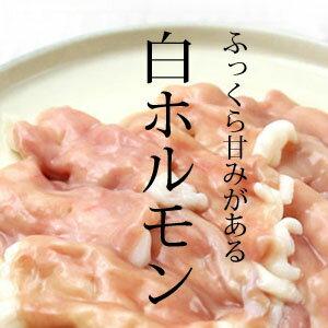 焼肉用白ホルモン(国産牛小腸) 200g/味噌たれ付き