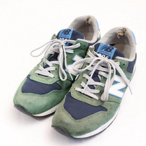 ニューバランスnewbalance26cmスニーカーメンズ996LIFESTYLEMRL996MBシューズ靴グリーンブランド古着