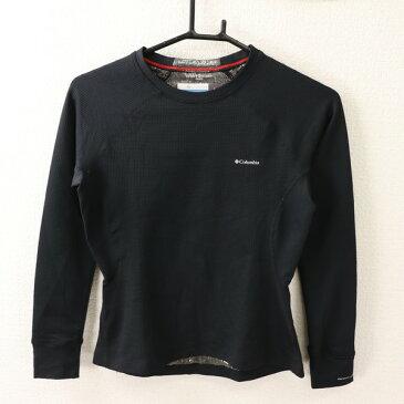 [良品] コロンビア Columbia Sサイズ ワンポイント Tシャツ レディース ヘビーウェイト トレーニング ブラック ブランド古着 【中古】