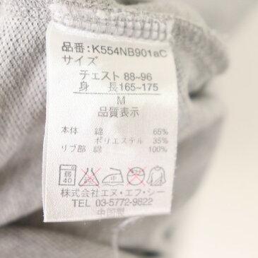 [良品] ニューバランス new balance Mサイズ ワンポイント ポロシャツ メンズ 半袖 ロゴ ゴルフ ゴルフウェア グレー ブランド古着 【中古】