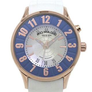 腕時計メンズ正規品ROMAGOロマゴミラー文字盤RM068-0053PL-RGBUメンズ腕時計