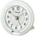 期間限定 目覚まし時計 メンズ レディース 時計 セイコー 目ざまし時計 トラベル QQ637W ※fu