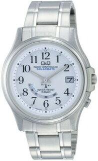腕時計メンズシチズン製Q&Qソーラー電波時計HG00?204メンズ腕時計シチズン