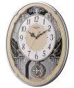 期間限定 掛け時計 メンズ レディース 時計 リズム時計製 電波掛時計 スモールワールドクラッセ 4MN538RH23 ※fu
