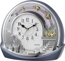 期間限定 置き時計 メンズ レディース 時計 リズム シルエットロマンス 4SE443SR04 ※fu