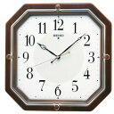 掛け時計 メンズ レディース 時計 セイコー 電波掛時計 やさしい表情 木枠時計 KX210B