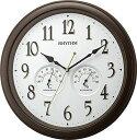 期間限定 掛け時計 メンズ レディース 時計 リズム オルロージュインフォート M37 8MGA37SR06 ※fu