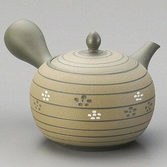 小茶壺餐具、烹調器具日本製造國產大容量許多的尺寸常滑焼急須大來,有小茶壺帶子網濾茶網小茶壺綠二裏拉in帶網小茶壺廚房用品餐具日式餐具日式茶茶具