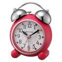 期間限定 目覚まし時計 インテリア・寝具・収納 リズム めざまし 時計 ツインベル アビスコ ※fu