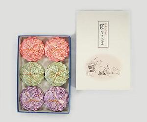 【落雁諸江屋】花うさぎ巾着6個入り ギフト 北陸 石川 金沢銘菓 落雁