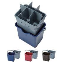 仕切付きバケツ2標準セット(テラモトCE-447-100)清掃用品掃除道具