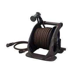 【ホースリール】タカギタフブラウン30m(R330TBR)(ガーデン洗車庭ホースリール散水散水用品売れ筋)