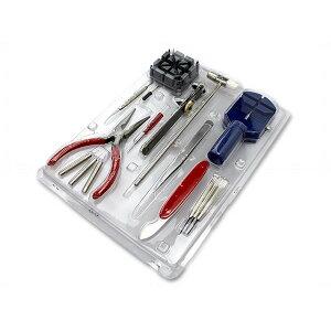 腕時計工具セット16点時計修理メンテナンス電池交換