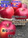 りんご 4.5Kg 訳あり 青森県 紅玉 りんご 4.5Kg 送料無料 りんご 紅玉 りんご ご家庭用 CA貯蔵 糖度保証 クール便配送可 当店のりんごは糖度保証 昔懐かしいりんご お菓子作りに最適 2