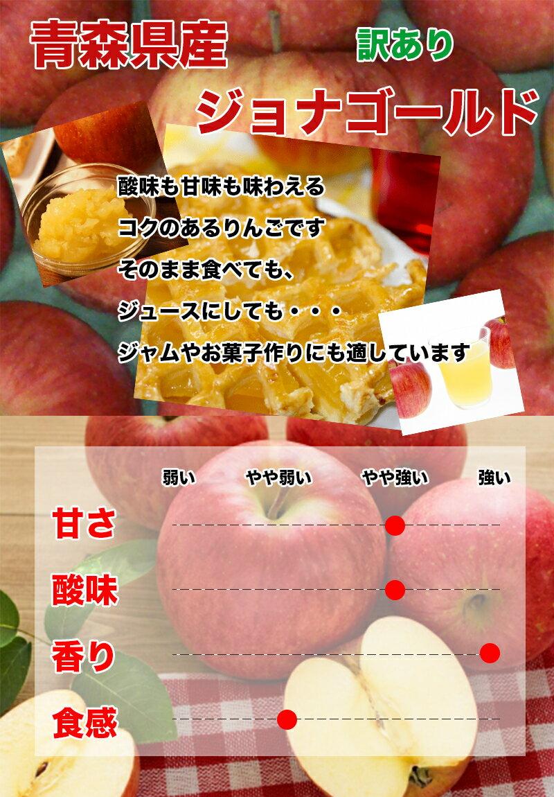 りんご>訳ありりんご>ジョナゴールド バラ 普通便使用