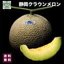 高級ブランド 静岡県 クラウン メロン 白クラス 1箱 1個入り 約1.2kg 3800円 送料無料 ...