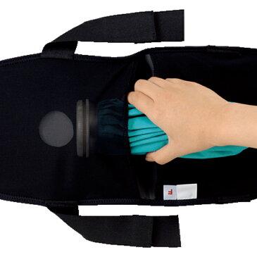 ザムストジュニアアイシング 肩用ジュニアの体型に合わせた設計ズレを抑えてしっかりフィット装着が便利な指通し穴様々な冷却材に対応