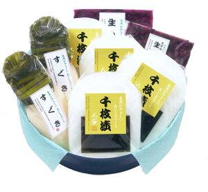 京都三大漬物千枚漬・すぐき・しば漬 SKG-50