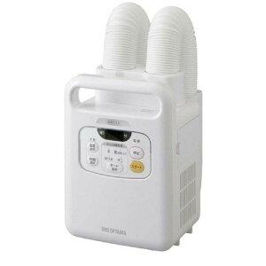 【在庫有】アイリスオーヤマ 布団乾燥機 カラリエ 温風機能付 マット不要 ツインノズル 布団2組・靴2組対応 ホワイト FK-W1