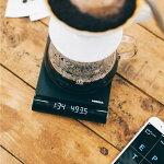 HARIOハリオコーヒースケールジミー計量範囲0~2000gブラックEQJ-2000-B珈琲計量SmartQJIMMYBluetoothエスプレッソ