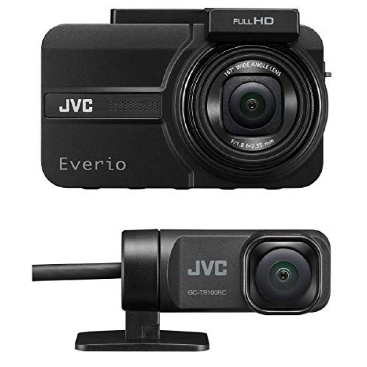 カーナビ・カーエレクトロニクス, ドライブレコーダー JVC KENWOOD GC-TR100-B 2 Everio GPS WDR microSDHC
