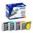 【定形外対応】EPSON エプソン 純正インクカ−トリッジ 4色パックIC4CL46 ※ネコポス不可